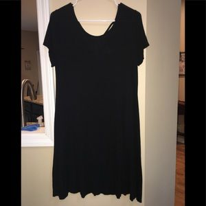 Black Mossimo Supply Co swing dress.